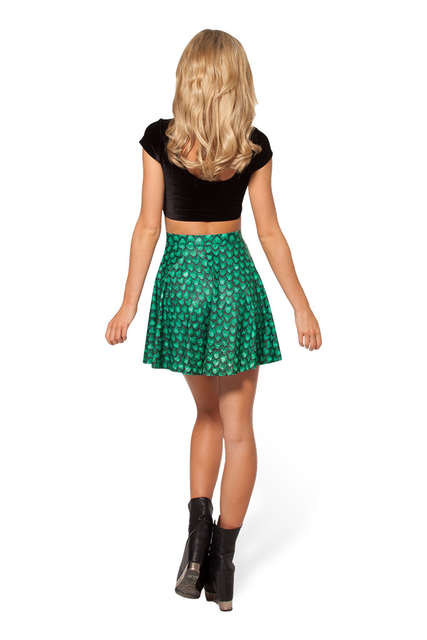 446ea3e60cf02 Above Knee Big Scales Green Women Summer Skater Skirt Red Gold Snake Scales  Above Knee Pink Skirts 2xl 3xl 4xl