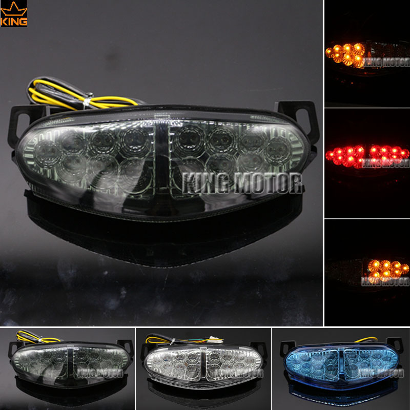 For KAWASAKI KLE 1000 KLE1000 VERSYS 2012-2015 Motorcycle Accessories Integrated LED Tail Light Turn signal Blinker Lamp Smoke for yamaha fz 09 mt 09 fj 09 mt09 tracer 2014 2016 motorcycle integrated led tail light brake turn signal blinker lamp smoke