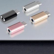 Универсальный USB Type-C мобильный разъем впрыска Type-C разъем для наушников 3,5 мм адаптер для наушников