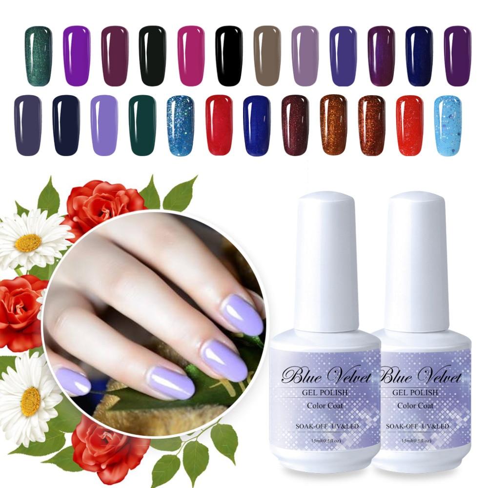 Blue Velvet 15ml Gel Polish Pick 1 From 233 Gel Nail