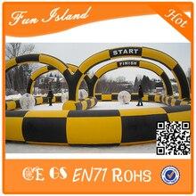 Надувной Мяч Зорб Гоночный Трек, надувные Race Track Спортивные Игры Для Продажи