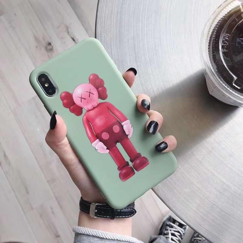 Американский уличный досуг Бренд Kaws XX кукла история красная человечка чехол для Apple iPhone 7 8 6 6s плюс X XS Max Xr Fundas