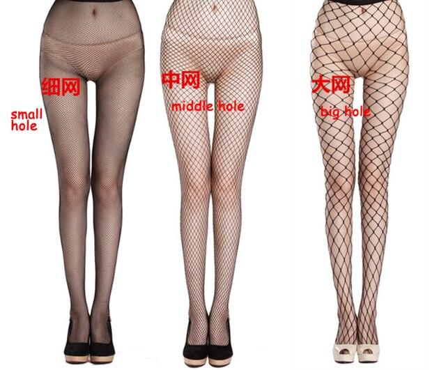bb7cc376d8834d Black Fishnet Hosiery Lyon Tights Women Summer Girls' Leggings Hot Pantyhose  Hollow Mesh Stockings