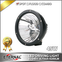 8pcs 45W Cannon Light High Power Vision Offroad Driving Headlight For 4x4 Offroad ATV UTV SUV