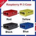 Raspberry Pi 3 Modelo B Caixa Gabinete ABS Shell Capa Caso de escudo Compatível com Raspberry Pi 2 Modelo B/B +