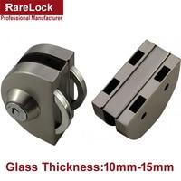 LHX Christmas Supplies Stainless Glass Door Lock for Bathroom Women Dress Shop Door Thickness10 15 DIY Office Hardware a
