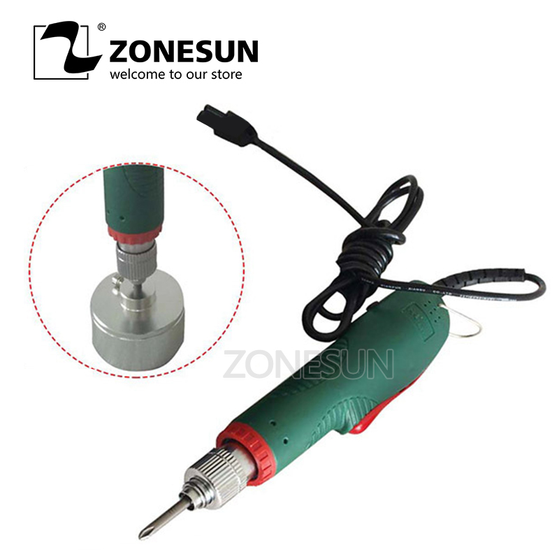 ZONESUN New Manual Electric Capping Machine Screw Capper Plastic Bottle Capping Machine for 10-50mmZONESUN New Manual Electric Capping Machine Screw Capper Plastic Bottle Capping Machine for 10-50mm