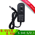 3pcs/lot  power adapter 8.4V 1A li-ion battery charger