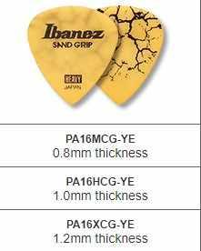 גריפ גריפ איבנז חול סדרת אשף סדק מפרט לאקוסטית חשמלי גיטרה לאסוף, 1/חתיכה