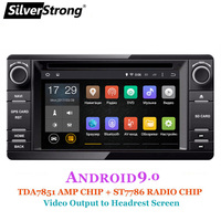 SilverStrong Android9.0 2Din Radio Car DVD GPS For MITSUBISHI OUTLANDER 2017 2014 2015 2016 GPS for PAJERO ASX 4G Radio BT 4.0