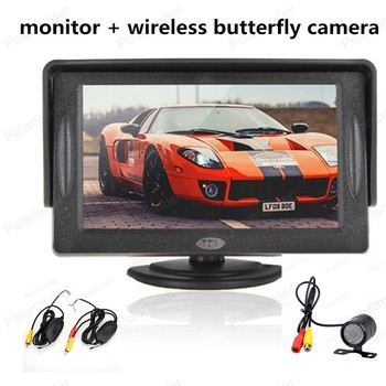 hot-sale Rear view Car Camera  with Video Transmitter  and Receiver Kit ,free shipping