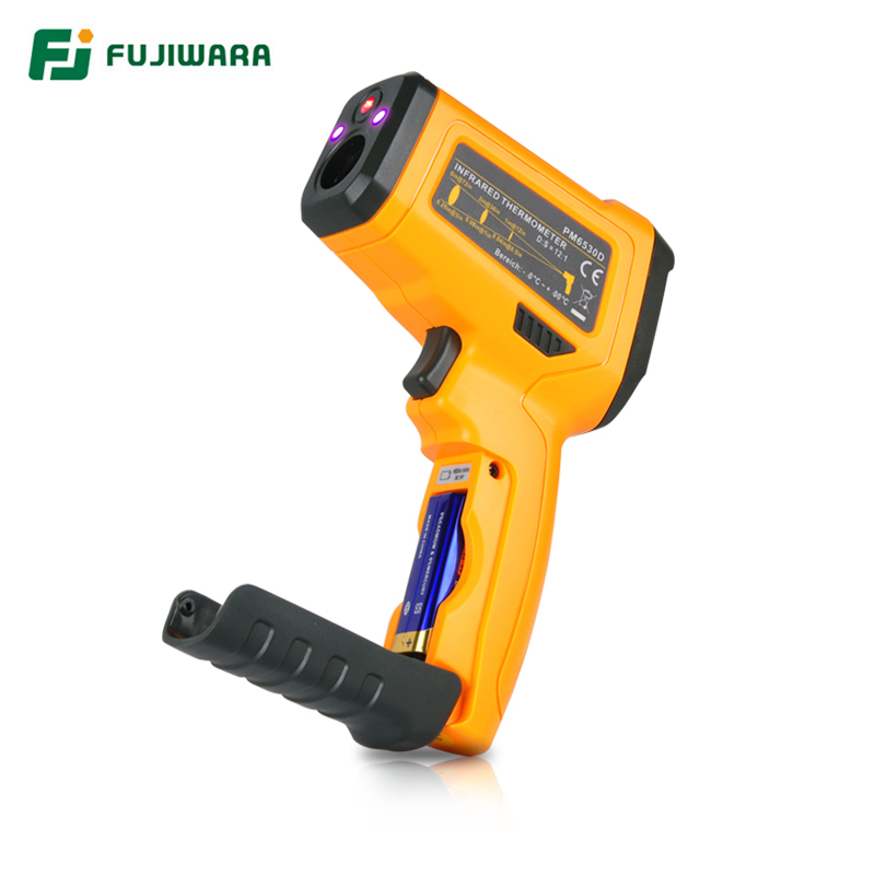 FUJIWARA Infrared Temperature Instrument -50-800 Centigrade Industrial Household Infrared Thermometer Gun Digital Thermometer цена