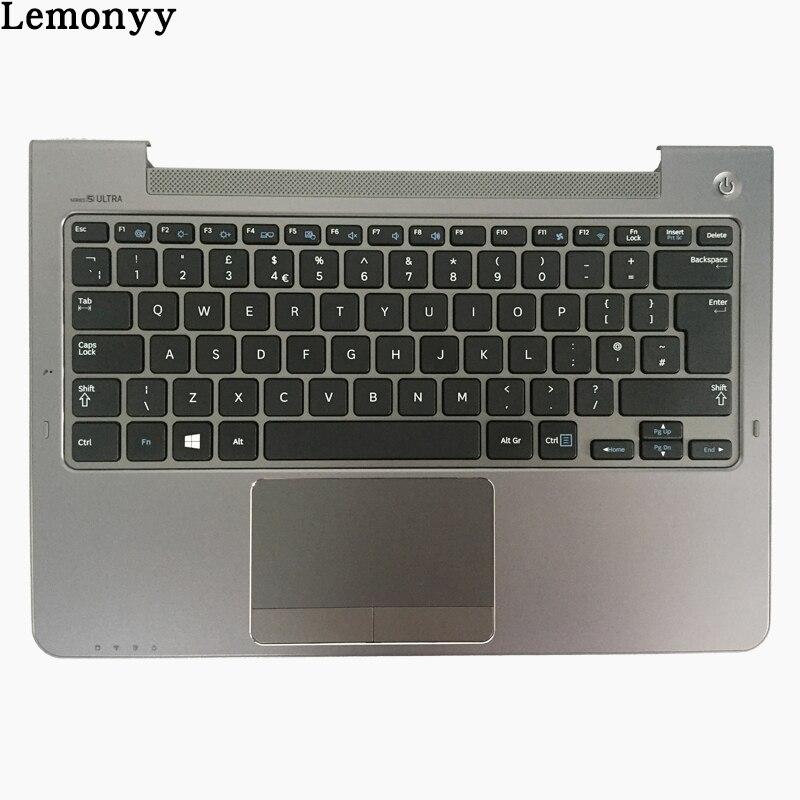 NEW UK keyboard For Samsung NP530U3C NP530U3B NP535U3C NP540U3 NP532U3C NP532U3A UK laptop keyboard gray palmrest cover крепление для жк дисплея ноутбука for samsung samsung 5 np530u3b np530u3c np532u3c np532u3x np535u3c np535u3b ba75 03780a np530 np535 np535u3b np530u3b np530u3c np532u3c np532u3x np535u3c
