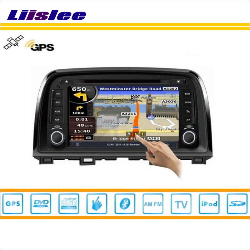 Liislee Car Android Multimedia For Mazda 6 CX5 CX 5 CX-5 2012~2014 Radio DVD Player GPS Navi Map Navigation Video Stereo System yessun for mazda cx 5 2017 2018 android car navigation gps hd touch screen audio video radio stereo multimedia player no cd dvd
