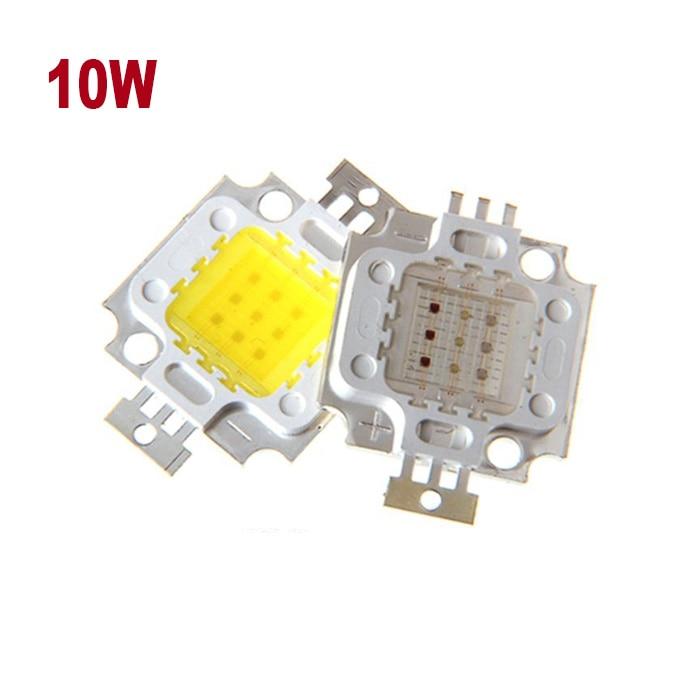 COB LED Chip Bulb 10W Cold White Flood Light Integration COB Lamp 30-34V Integrated SMD Floodlight Spotlight