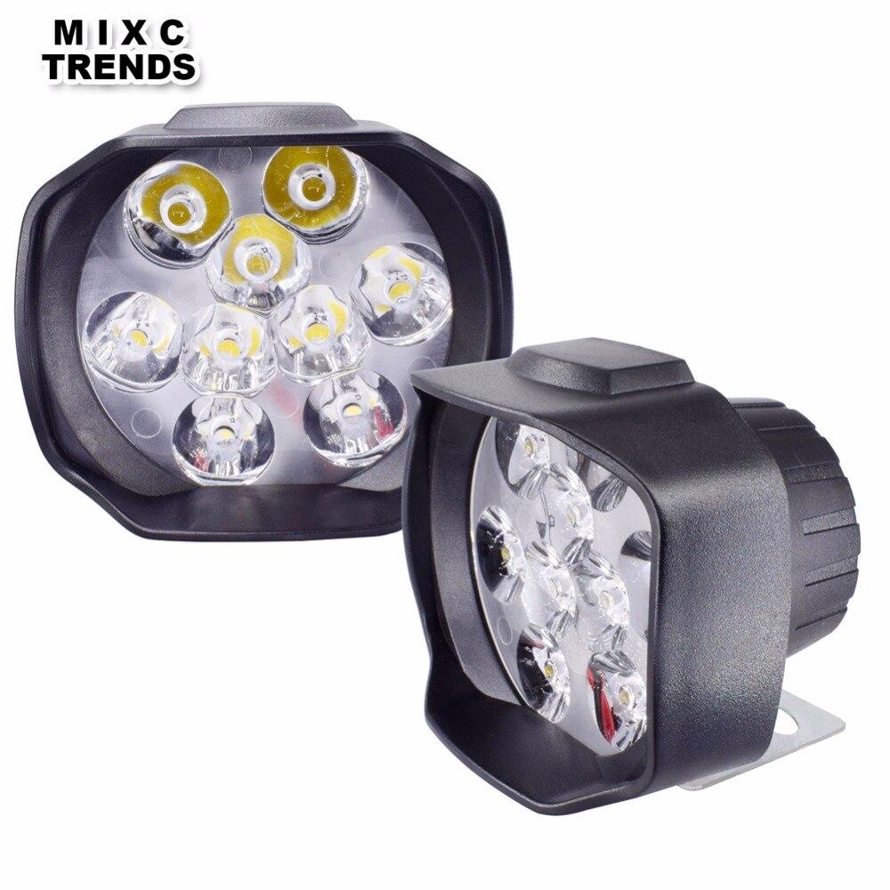 Pkg of 2 Micro LED Emergency Light High Output White
