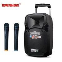 TEMEISHENG рычаг 30 Вт Мощный портативный спикер Bluetooth динамик поддержка беспроводной микрофон открытый динамик MP3 плеер