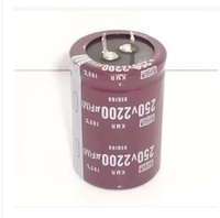 6PCS 2200UF 250V 250V2200UF Capacitance High Quality Aluminum Electrolytic Capacitors 35 50mm