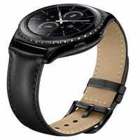 20 millimetri Cinturini Per Orologi Cinturino In Vera Pelle Per Samsung Gear S2 Classico Orologio Intelligente di Ricambio Accessori Wristband per Amazfit BIP