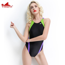 cb70acdf1d111 YINGFA 976 One Piece Swimwear Womens professional Swim Sport Swimsuit Quick  Dry Bathing Suit Female Racing
