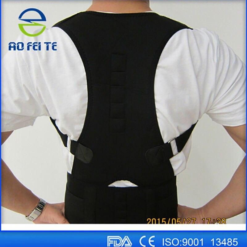 original de premier ordre acheter maintenant baskets € 10.27 20% de réduction|Correcteur de Posture magnétique hommes femmes  soutien lombaire ceinture dorsale gilet orthopédique pour orthèse dorsale  ...