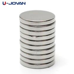 U-JOVAN 25 шт. 12x2 мм N35 мини маленький круглый супер мощный редкоземельный неодимовый магнит