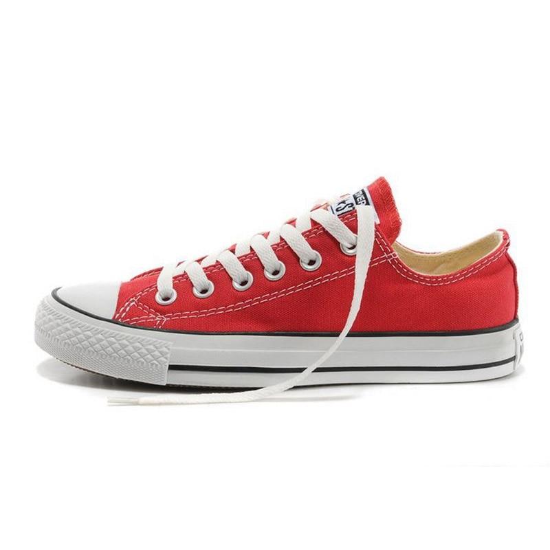 8a4326de141d Dropwow Authentic Converse All Star Canvas Shoes Unisex Classic Low ...
