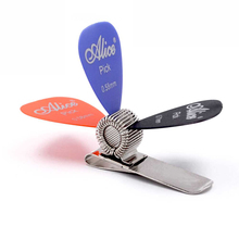 Clip Picks-Holder Guitar Metal General-Guitar-Accessories Universal 3pcs-Picks