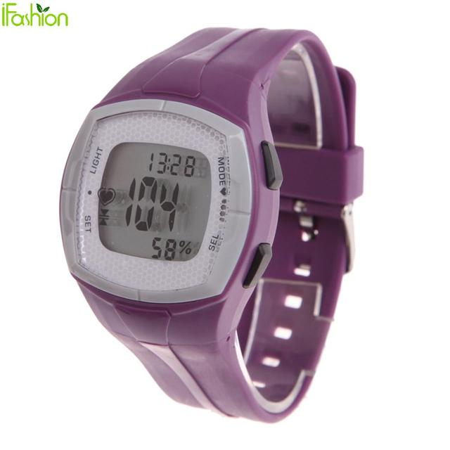 Wireless Transmission Heart Rate Monitor for Cycling Jogging Running Tennis Hazard warning alarm for MHR