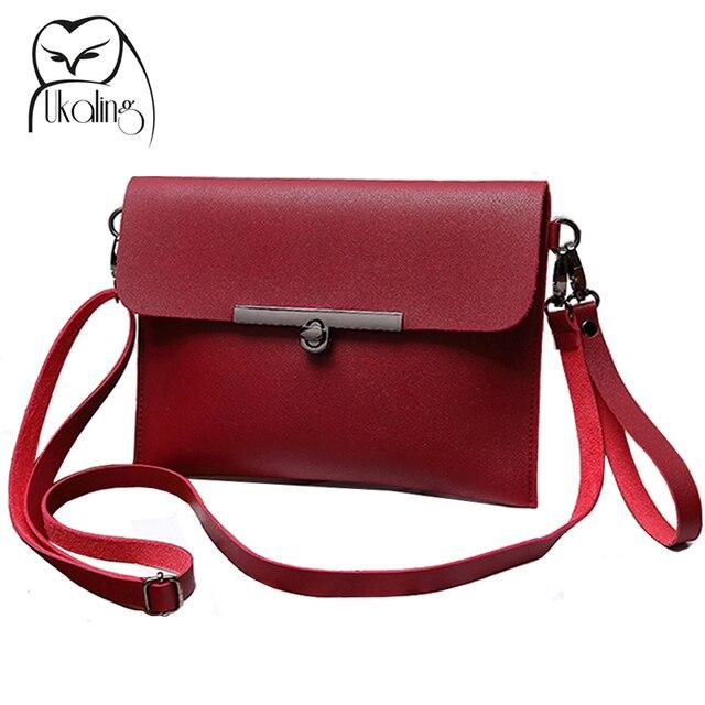 4fd29b7add03 UKQLING Women Messenger Bags Envelope Clutches Handbag Women Clutch Purse  with Long Strap Women s Shoulder Bags