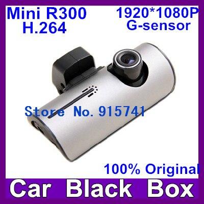 2013 newest Car DVR 1080P Full HD Video Recorder G-sensor H2.64 5.0M Pixels FNight Vision 4x Digital mini R300 free shipping