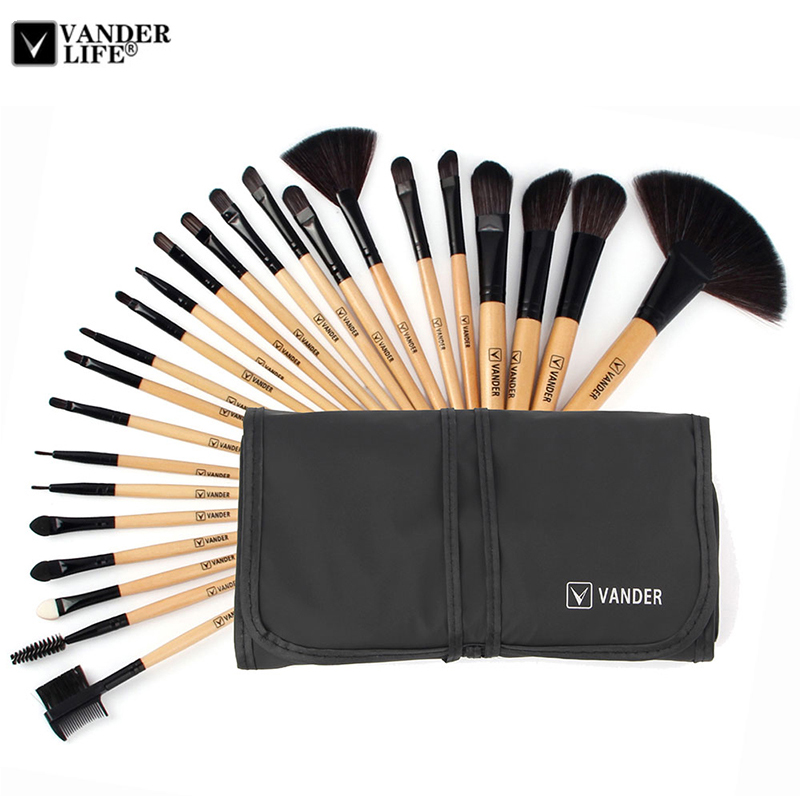 VANDER 24 pcs brand Makeup Brushes Professional Cosmetic ...