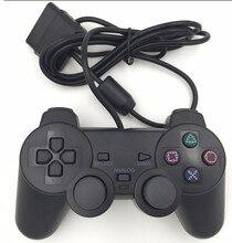 Wired Game Controller para Sony PS2 Playstation 2 Controller Joypad Pad wired gamepad Choque larga palanca de mando por cable NYGACN NJP205