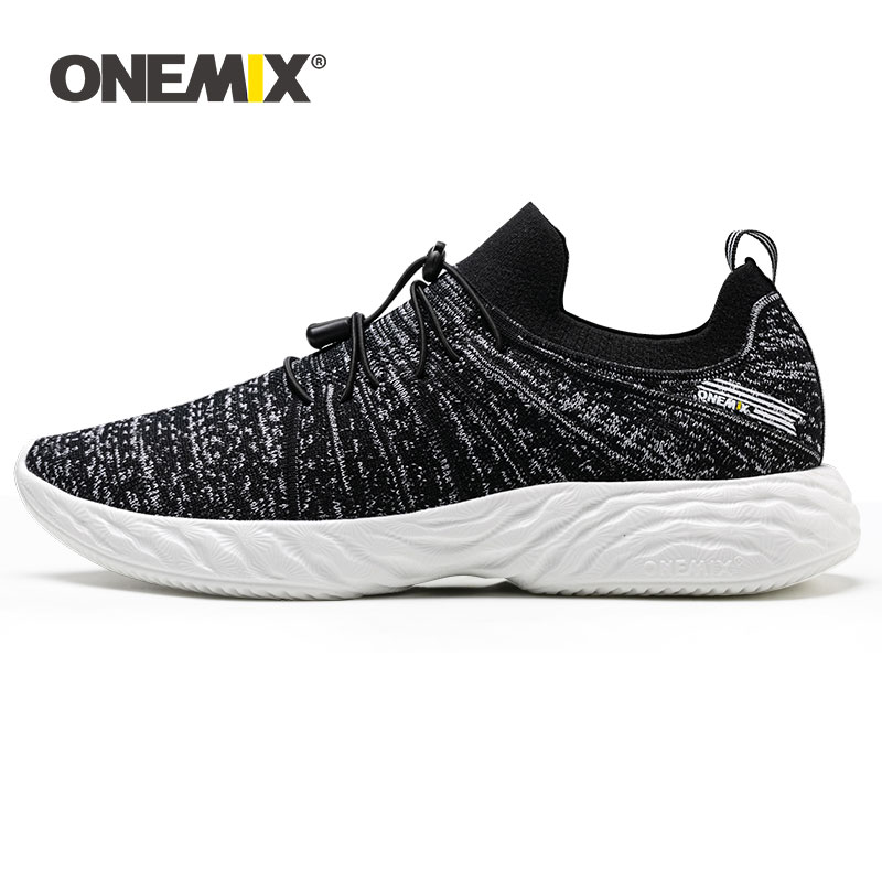 ONEMIX Men Sneakers Luxury Brand Running Shoes For Men Slip On Sneakers Summer Outdoor Breathable Jooging Boosts Man Sport Shoes