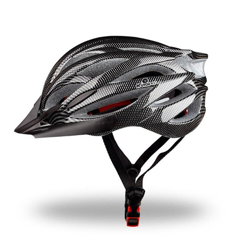 Ultralight Bicycle helmets for men Cycling Helmet 21 wind hole design Bike Helmet Casco Ciclismo 235g 55-65cm #2a10#F