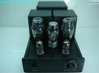 IWISTAO 2X6.5W HIFI Tube Amplifier Pure Class A 6N3 Pre amplifier 6P3P Power 5Z3 Rectifier SRPP Pull Push Circuit Alloy Aluminum