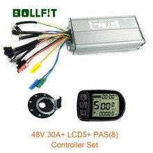 48V 1000W Controller LCD5  Display Meter PAS Set E-bike Conversion Kit  Hall Sensor