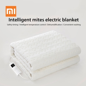 Image 1 - Xiaomi Youpin Smart Removing Mites Electric Blanket Safety Timing Intelligent Temperature Control Convenient Washing for Winter
