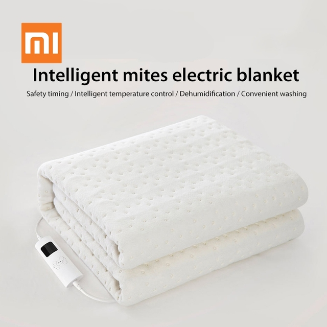 Xiaomi Youpin Smart Removing Mites Electric Blanket Safety Timing Intelligent Temperature Control Convenient Washing for Winter
