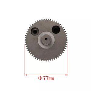 Image 3 - GSH11E Eccentric cog wheel crankshaft gear big flat replacement for BOSCH GSH11E GSH 11E  Impact demolition hammer spare parts