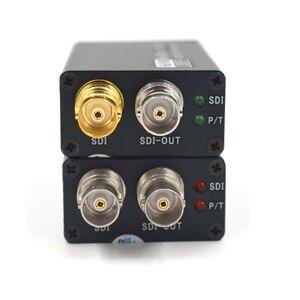 Image 2 - Konwertery światłowodowe Mini HD SDI z SFP simplex LC jednomodowy sygnał SDI nad włóknem 20Km