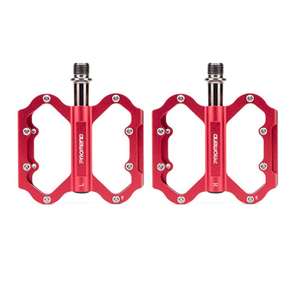 1 Pair Fixed Gear MTB Bicycle Pedals Aluminum Bearing Light Weight Big Tread Tripellin Sport Durable Cycling Foot Pedals