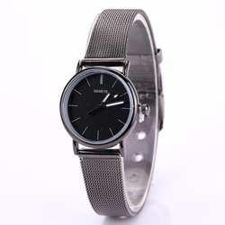 Mujer Zegarek Баян коль Saati Relojes Para любителей металла Кварцевые женские наручные часы relogio