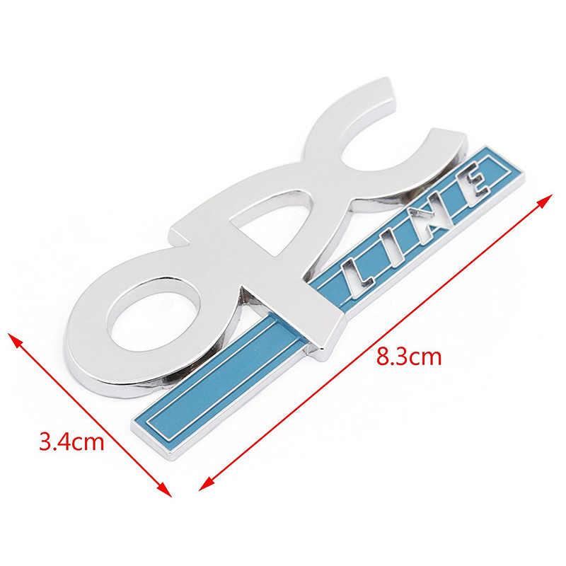 3D 金属 OPC ラインエンブレムためオペルアストラ Zafira カーアクセサリーデコレーションカーデカール