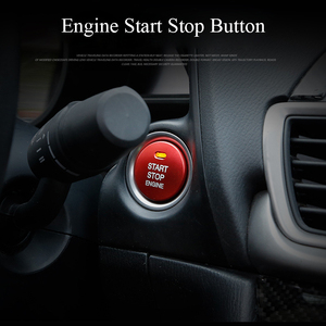 Engine Start Stop Button Adhesive Sticker Key Accessories Car Styling Switch for Mazda 3 BM BN 6 GJ1 GL CX-4 CX4 CX-5 CX5