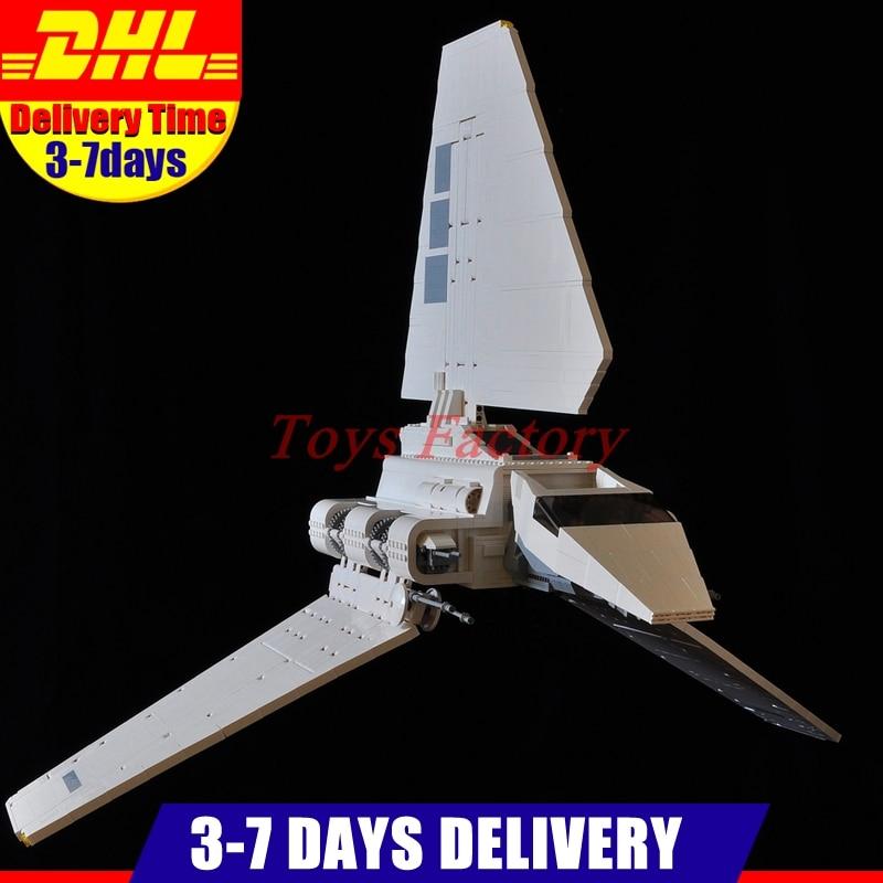 IN Stock DHL LEPIN 05034 2503 PCS UCS Series The Imperial Shuttle Model Building Kits Blocks Bricks Toys Gift 10212 gipfel indigent 2503