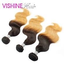 Aliexpress uk Cheap 3Pcs Rosa Ombre Brazilian Virgin Body Wave best 613 Ombre Hair Weave Rosa Hair Ombre Brazilian Hair weave