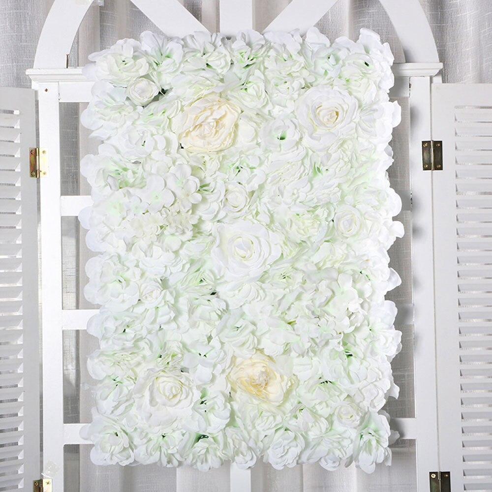 Artificial Rose Flower Row Small Corner Flowers Simulation Silk Fake Flowers Wedding DIY Decor Home Garland Decor Flores