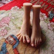 Hot Newest Simulate Sweaty Girls Lesbians Foot Feet Model Footfetish Mannequin Dominationchina
