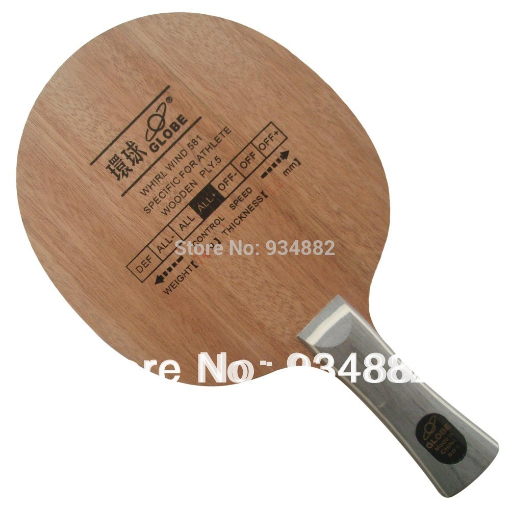 Globe WHIRL WIND 581 Wooden PLY-5 Table Tennis Blade For Table Tennis Racket Ping Pong Paddle